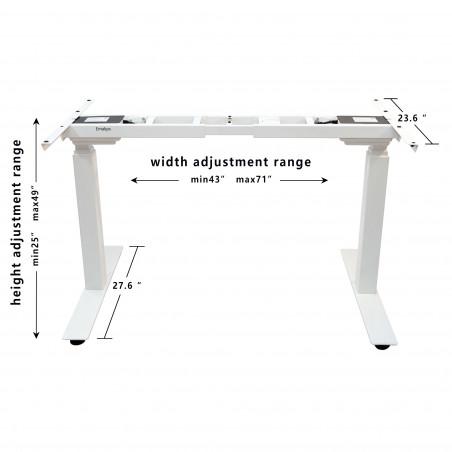 Emakps Standing Desk Legs Dual Motor